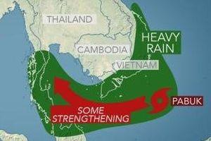 Bão số 1 tiến gần đất liền, cảnh báo Nam Bộ có mưa to