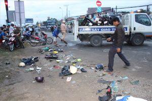 Vụ xe container gây tai nạn liên hoàn: Lời kể rợn người của nhân chứng