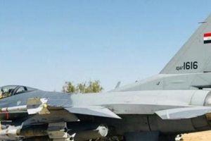 Chiến đấu cơ F-16 Iraq bay vào Syria không kích dữ dội, lấy mạng 30 thủ lĩnh IS
