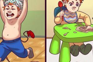 Đừng vội trách phạt con, bạn nên mừng khi trẻ có 7 hành vi không tốt này