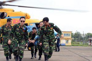 'Bật mí' về khổ luyện tại bệnh viện dã chiến tham gia lực lượng 'mũ nồi xanh'