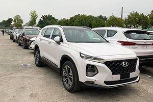 Hyundai SantaFe 2019 đổ bộ đại lý Việt Nam đầu năm mới