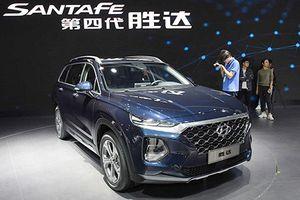 Hyundai SantaFe 2019 cảm biến vân tay ra mắt sát Việt Nam