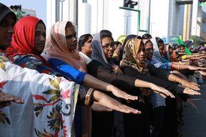 Hàng triệu phụ nữ Ấn Độ biểu tình ủng hộ quyền được viếng đền