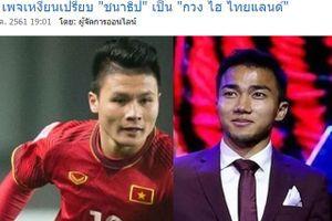 CĐV Thái bức xúc vì Songkrasin bị ví là 'Quang Hải của Thái Lan'