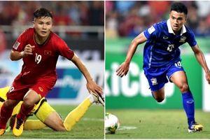 Video Quang Hải so tài với 'Messi Thái' Chanathip