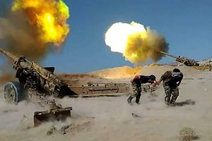 Quân đội Syria đánh phá dữ dội chiến tuyến của khủng bố nước ngoài ở Hama, Idlib