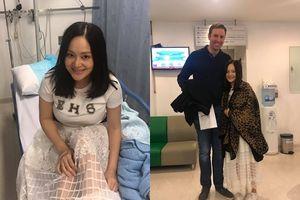 Lan Phương đón năm mới trong bệnh viện và câu chuyện xúc động về con gái Lina