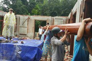 Biệt phủ trăm tỉ xây trái phép của đại gia vàng Phước Minh đã tiến hành tháo dỡ xong