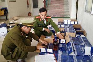 Thanh Hóa: Bắt giữ gần 1.000 chai rượu ngoại nhập lậu