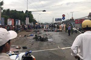 Container đâm hơn 20 người thương vong ở Long An: Tài xế đi tân gia, nghi uống rượu bia trước khi gây tai nạn