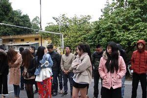 Hưng Yên: Phát hiện nhóm thanh niên sử dụng ma túy