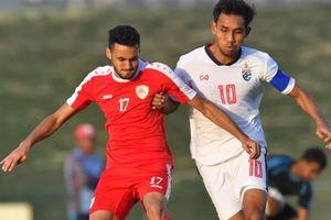 Tuyển Thái Lan chịu trận thua trước thềm Asian Cup 2019