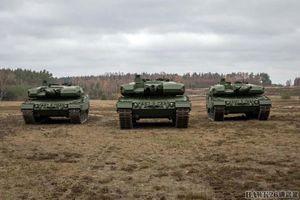 Ba Lan đưa vào biên chế xe tăng Leopard 2PL đầu tiên