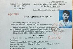 Quảng Bình: Truy nã đối tượng vận chuyển hơn 300 kg ma túy đá