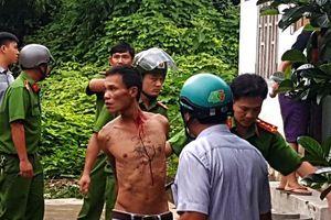Khánh Hòa: Thanh niên ngáo đá trộm xe máy rồi ôm bình gas cố thủ