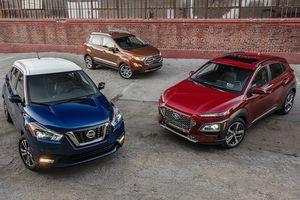 Ford EcoSport, Hyundai Kona và Nissan Kicks: Đâu là sự lựa chọn ở phân khúc B-SUV