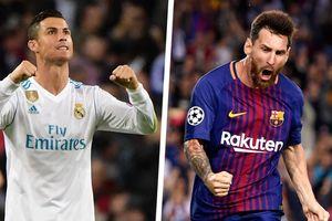 Chân sút ghi bàn nhiều nhất năm 2018: Messi, Ronaldo thua cầu thủ vô danh