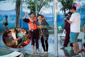 Dù trời mưa, Lê Giang vẫn vui chơi 'hết nấc' cùng Minh Dũng, Hồng Thanh ở Vĩnh Long