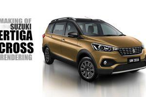 Suzuki Ertiga Cross sắp ra mắt, thách thức Honda BR-V và Toyota Rush