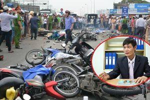 Container tông hơn 20 người thương vong ở Long An, kỹ sư Lê Văn Tạch: 'Không thể xảy ra việc mất phanh'