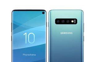 Ảnh thực tế đầu tiên về Galaxy S10 màn hình 'đục lỗ' sắp ra của Samsung