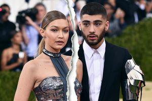 Người mẫu Gigi Hadid lại chia tay bạn trai ca sĩ?