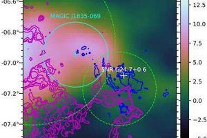 'Soi' tia gama khủng phát ra từ tàn dư siêu tân tinh