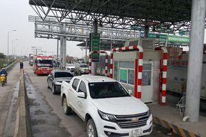 Chùm ảnh: Trạm BOT Tiên Cựu Hải Phòng phải xả trạm ngày đầu thu phí