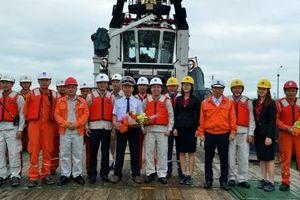 NMLD Dung Quất nhập chuyến dầu thô thứ 800