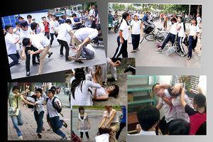 Đường dây nóng bạo lực học đường: Giảm những vụ đánh nhau tung clip?