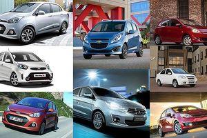 Bảng giá các loại xe ô tô tháng 1/2019 mới nhất