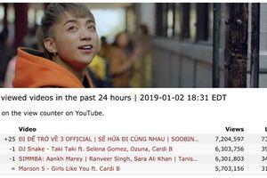 Bất ngờ chưa, MV mới của Soobin Hoàng Sơn được xem nhiều nhất trên thế giới sau 24 giờ