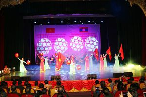 Biểu diễn nghệ thuật, vun đắp quan hệ hữu nghị đặc biệt Việt Nam - Lào