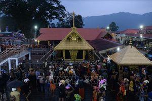 Căng thẳng liên quan việc phụ nữ vào đền thiêng Sabarimala ở Ấn Độ