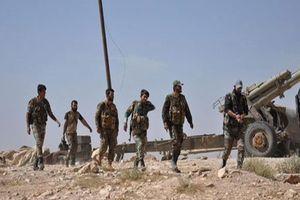 Quân đội Syria nhắm vào vùng đệm Hama, khủng bố tổn thất lớn