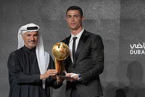 Ronaldo lần thứ 5 giành giải thưởng cầu thủ xuất sắc nhất năm