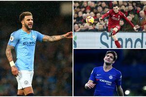 10 hậu vệ cánh ấn tượng nhất Premier League: Liverpool, Chelsea áp đảo