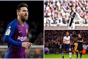 Cuộc đua Chiếc giày vàng châu Âu: Ronaldo áp sát Messi