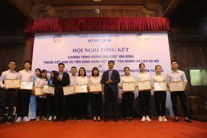 Mô hình Đội tình nguyện 'Hỗ trợ du lịch Thăng Long - Hà Nội': Thiết thực, hữu ích