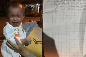 Bé gái 14 tháng bị bỏ rơi kèm lá thư 'cháu chưa khai sinh, nhờ nuôi dưỡng'