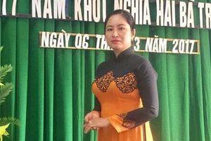Bình Định: Bắt giam nữ Chủ tịch Mặt trận Tổ quốc thị trấn Phù Mỹ