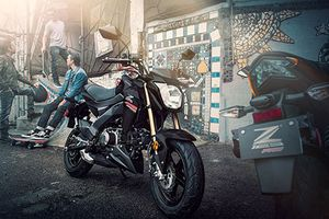 Chi tiết Kawasaki Z125 90 triệu đồng, 'đấu' Honda MSX