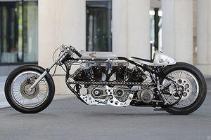 Choáng với Harley-Davidson cực khủng độ Chopper V4