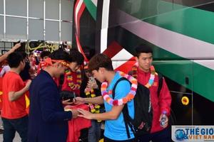 Thầy trò HLV Park Hang-seo được tạo điều kiện thuận lợi tối đa tại UAE