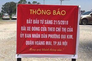 Hà Nội dự kiến đầu tư 204 dự án bãi đỗ xe