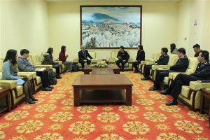 Hải quan Lạng Sơn làm việc với USAID về tạo thuận lợi thương mại