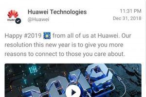 Huawei phạt 2 nhân viên vì 'cả gan' gửi lời chúc mừng năm mới trên iPhone