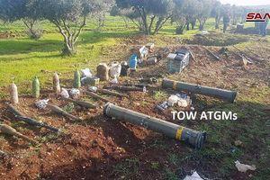 Quân đội Syria phát hiện một kho vũ khí bí mật của 'quân nổi dậy' ở tỉnh Homs