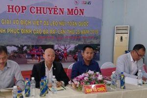 Giải Việt dã leo núi toàn quốc 'chinh phục đỉnh cao Bà Rá' lần thứ 25: Đổi mới đường chạy